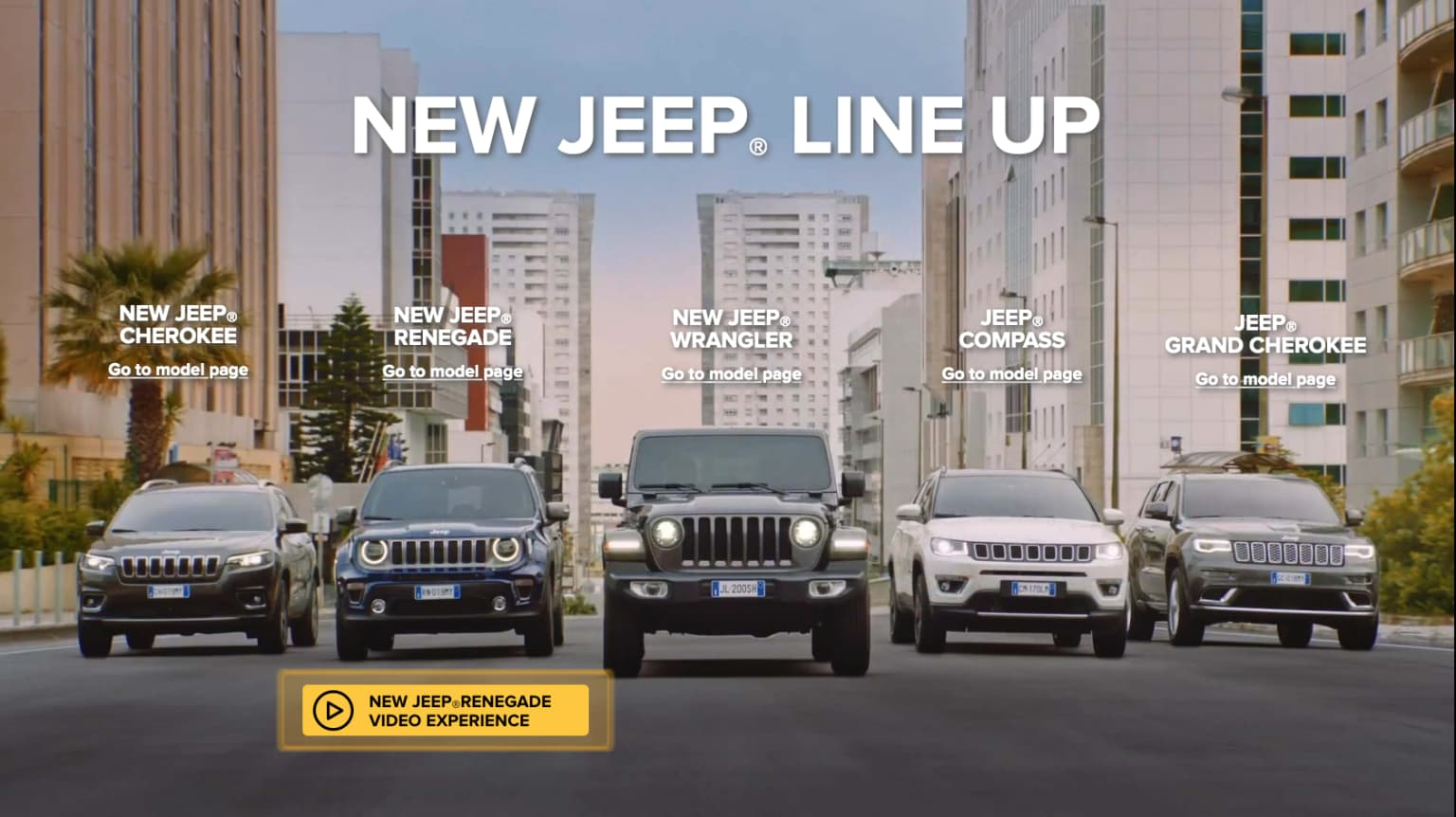 Jeep - Interactive Experience