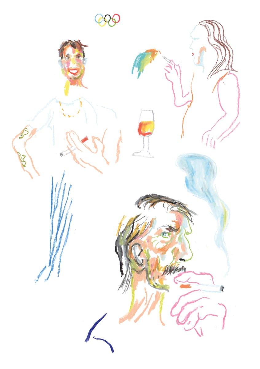 Reportage illustrations for DUMMY Magazine (Germany)