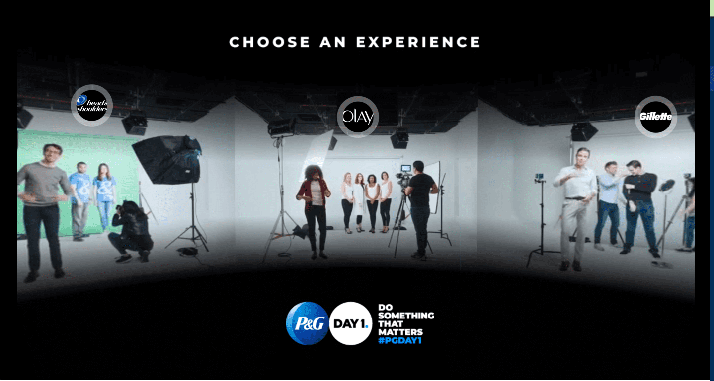 P&G - Day 1 Interactive Video