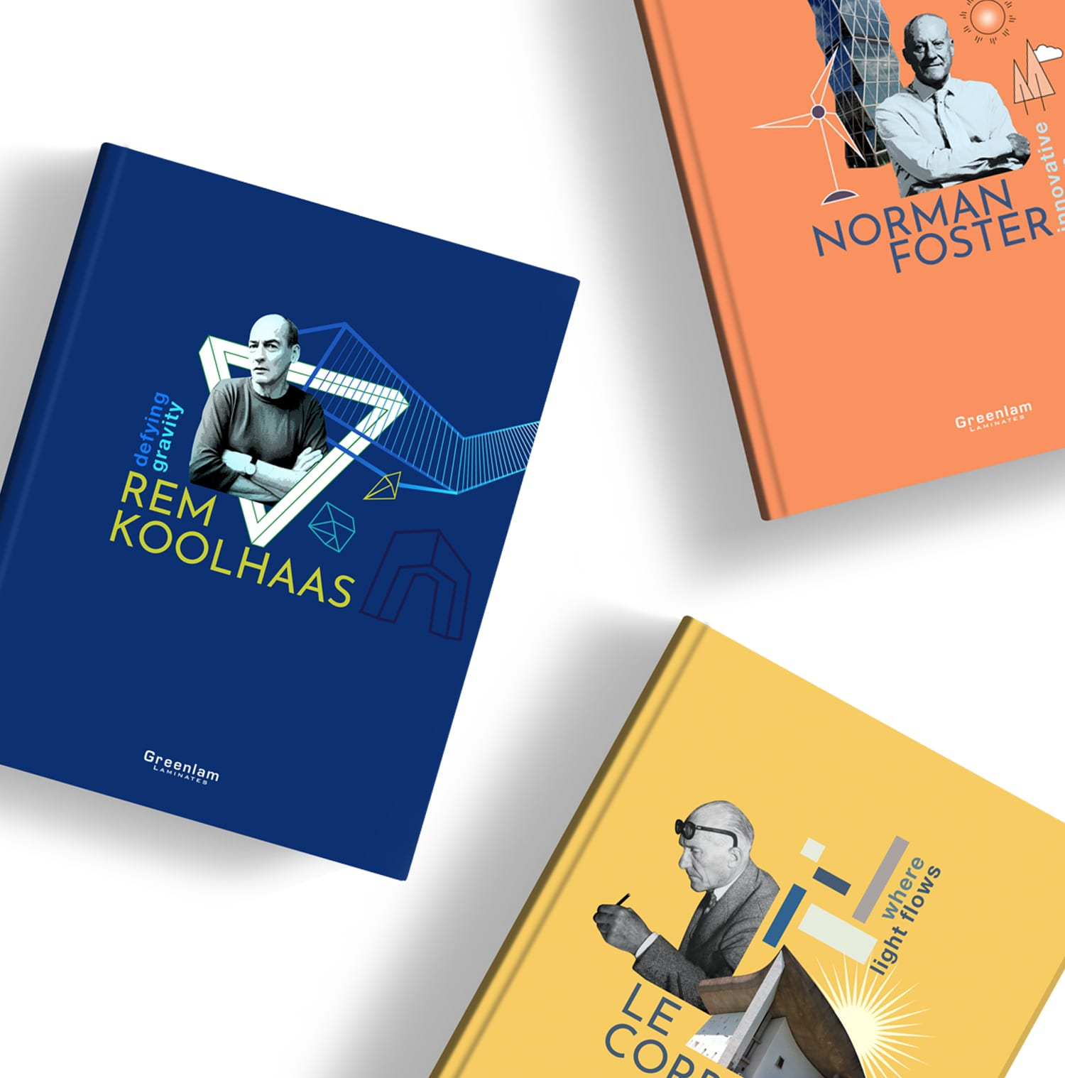 """""""The visions of legendary architects"""" - Notebook cover designs"""