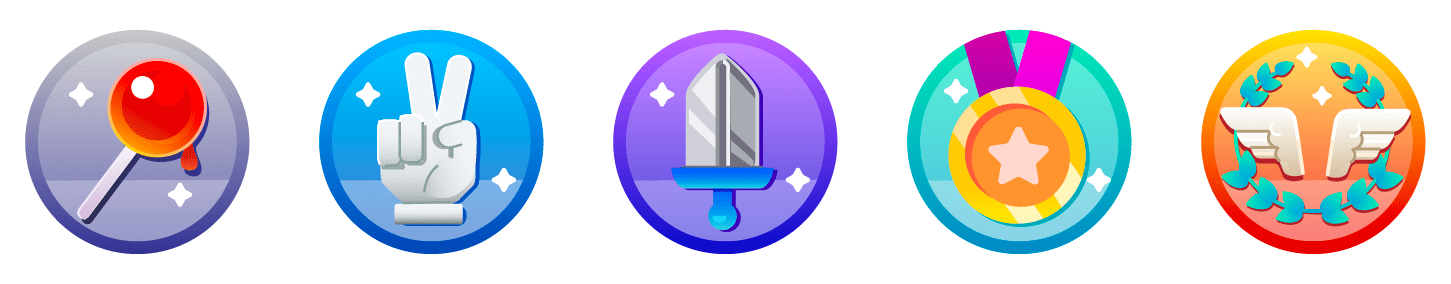 Icons for Leveling Up Streamers