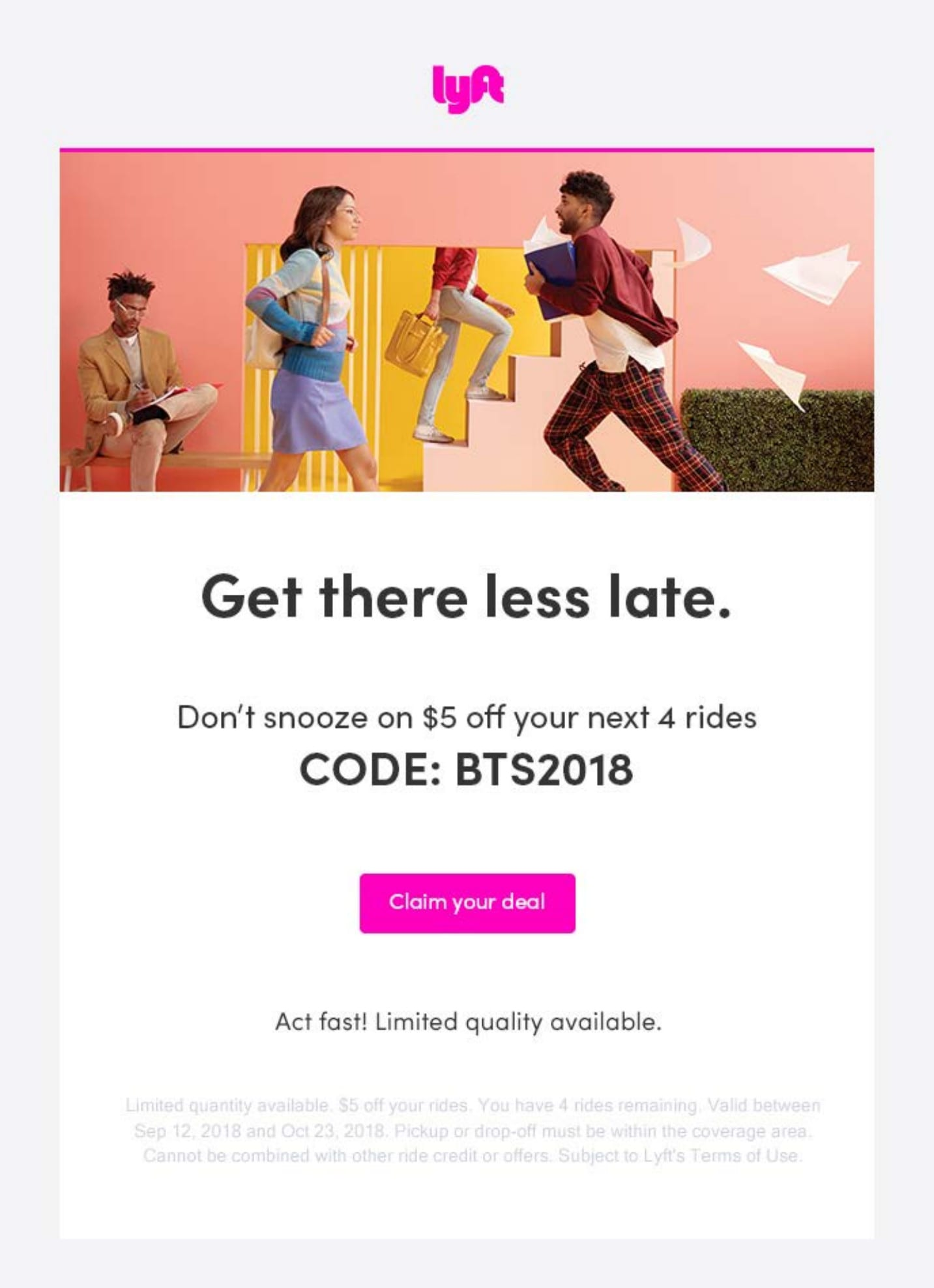 Lyft New College Activation Campaign