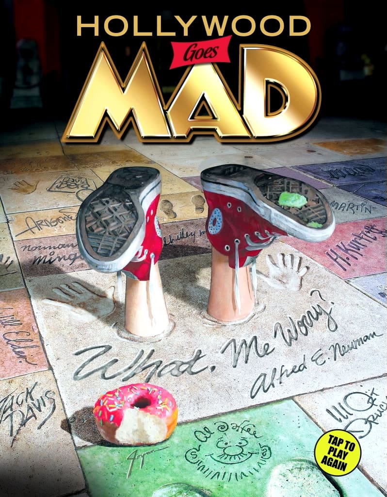 Cover Animation, MAD Magazine Issue #2 Digital Release