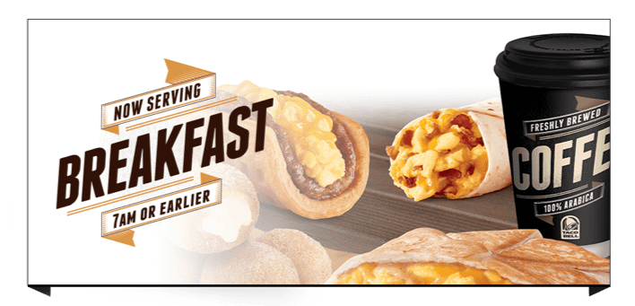 Taco Bell Breakfast Daypart Launch