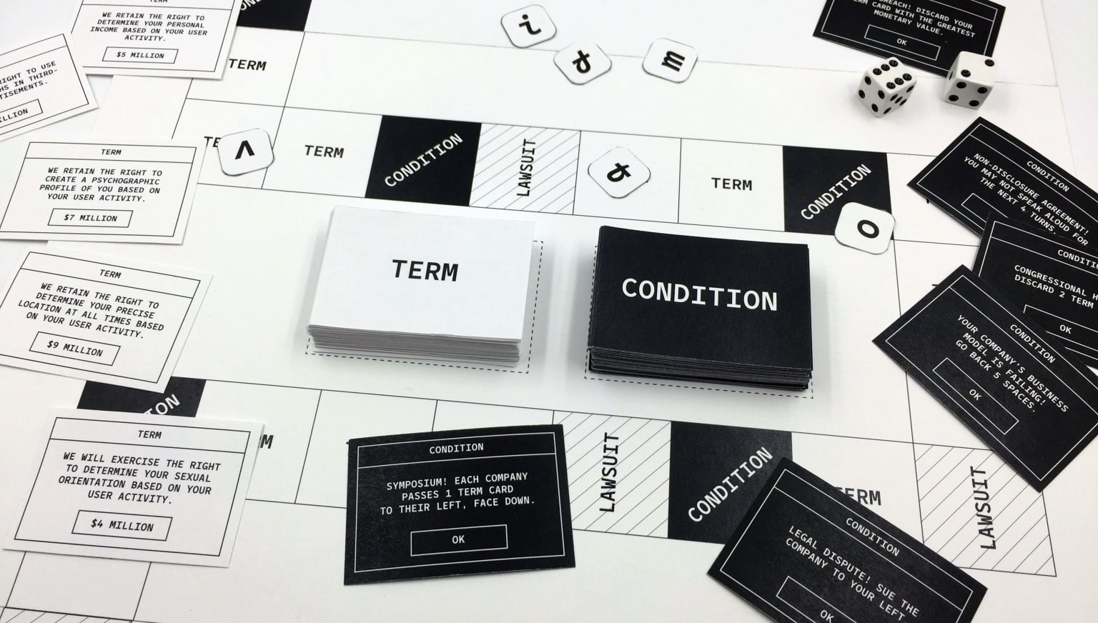 Terms and Conditions: The Game