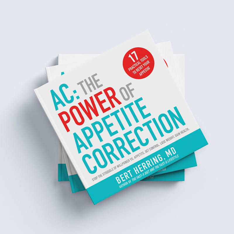 AC: The Power of Appetite Correction Book Design