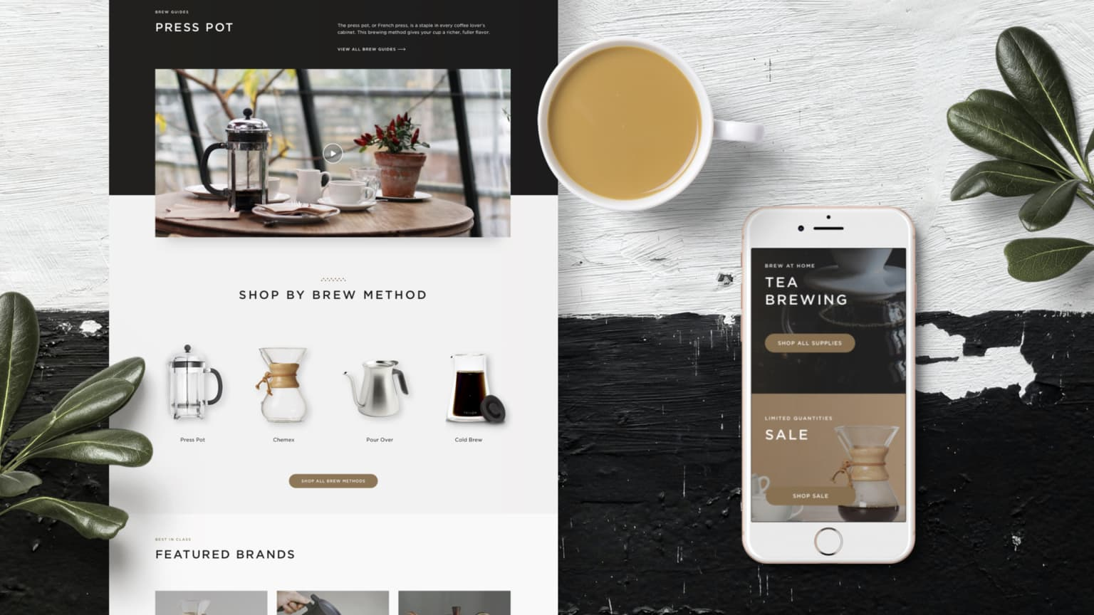Peet's Coffee Web Redesign
