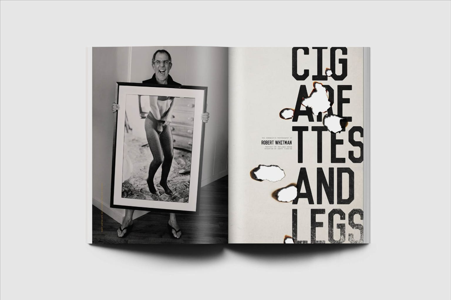 As If — Cigarettes and Legs