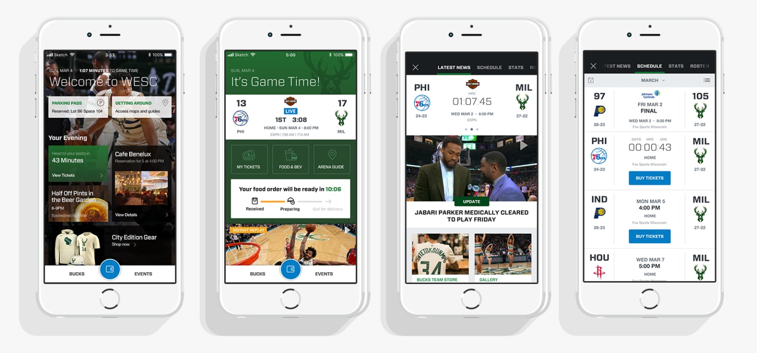 Mobile Sports Experience