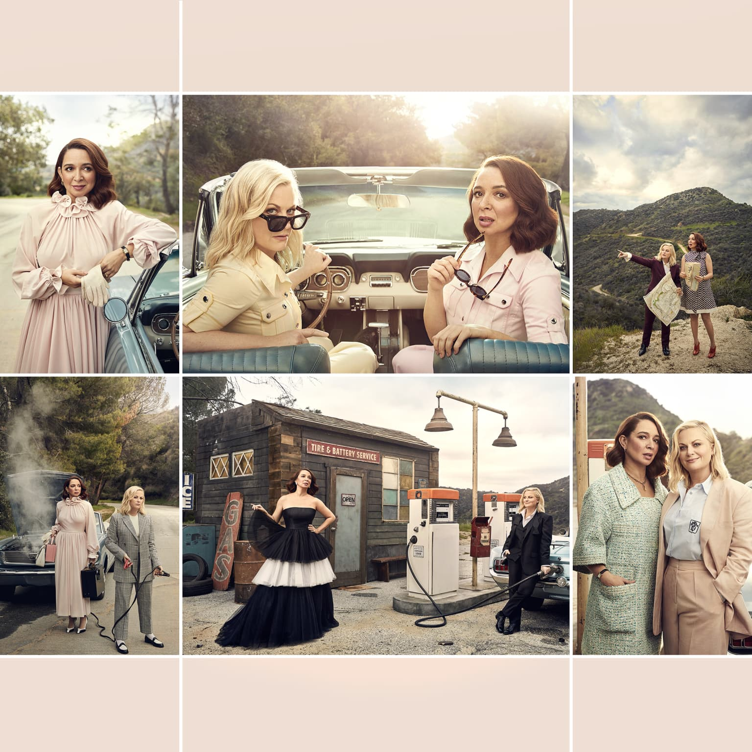 Maya Rudolph and Amy Poehler for Vanity Fair