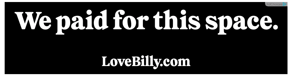 LOVE BILLY! // Brand Strategy + Writing