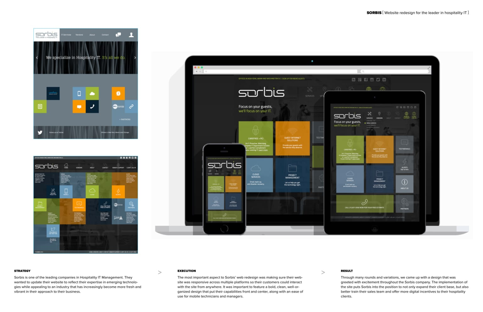 Sorbis Website Redesign