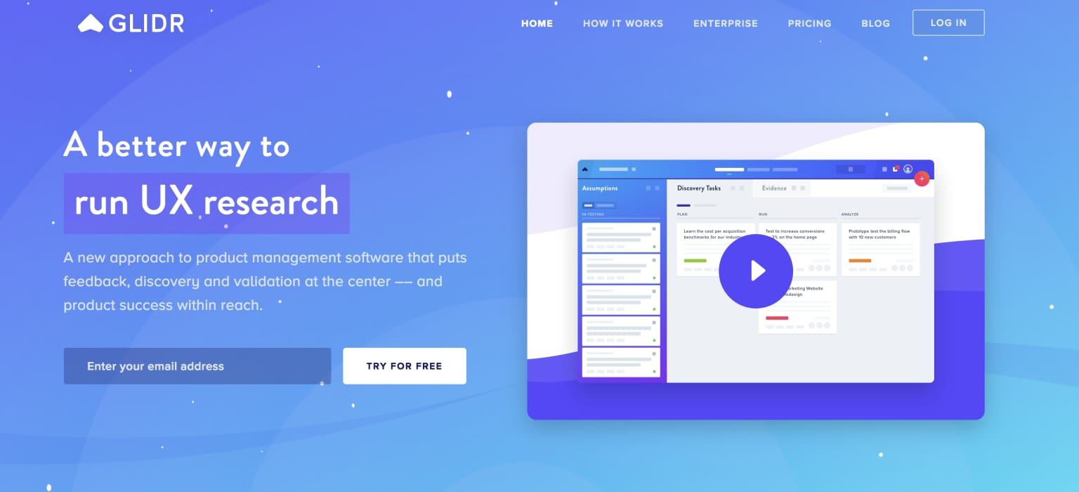 GLIDR - Voice refresh + website and email copy