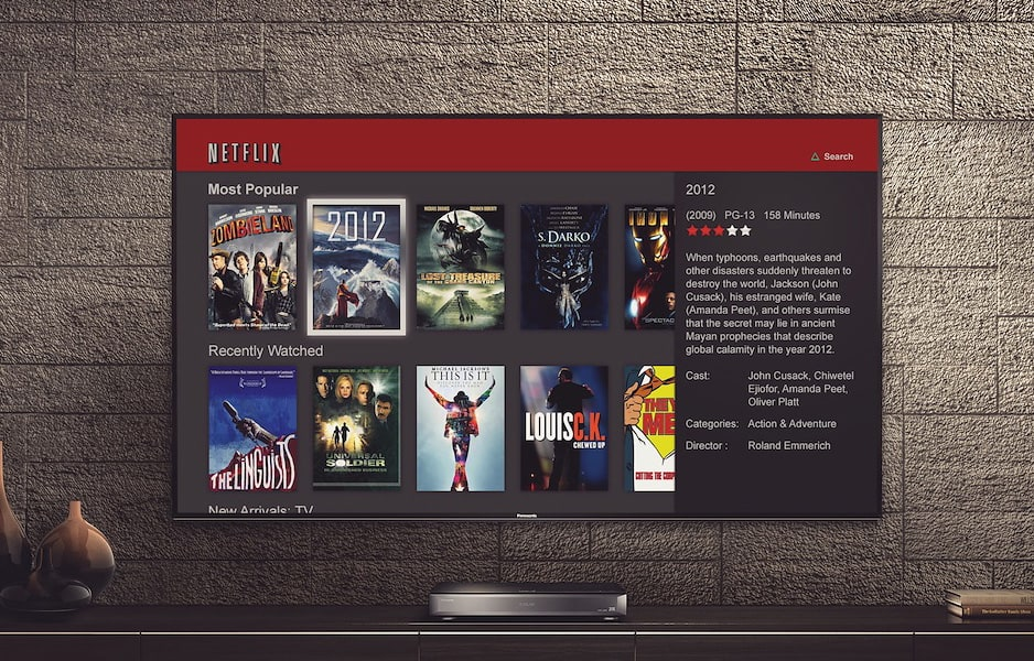 Netflix Streaming TV Experience