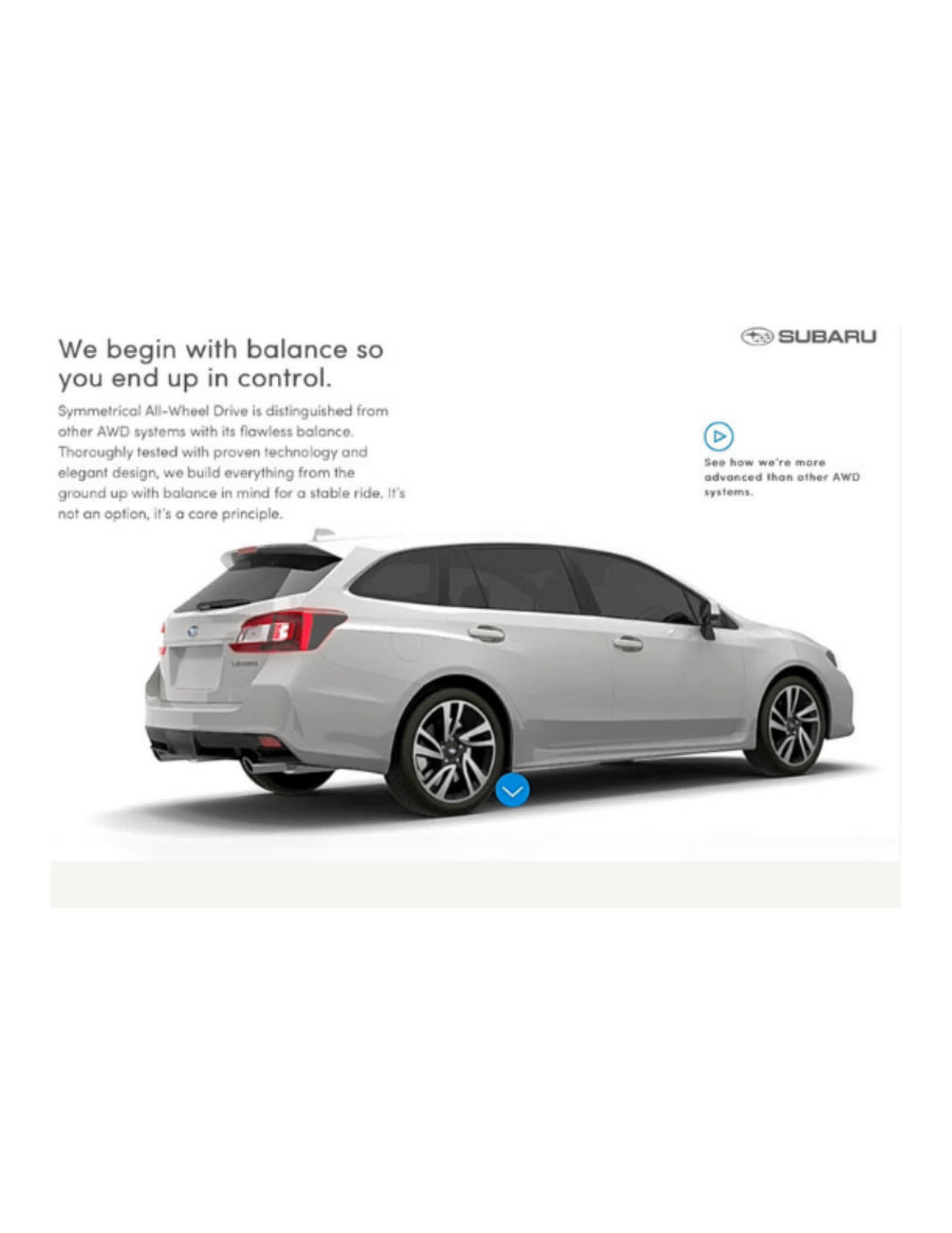 Subaru SE Asia Website