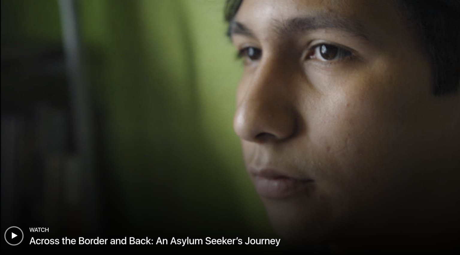 THE NEW YORKER | An Asylum Seeker's Journey from El Salvador to Arkansas, and Back Again