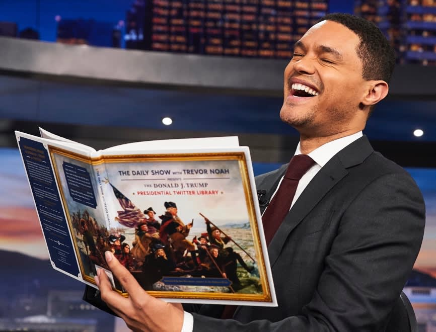 The Daily Show Presents - The Presidential Twitter Library Book