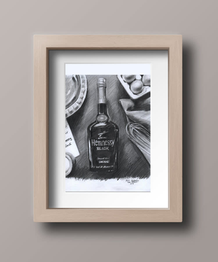 Hennessy drawing
