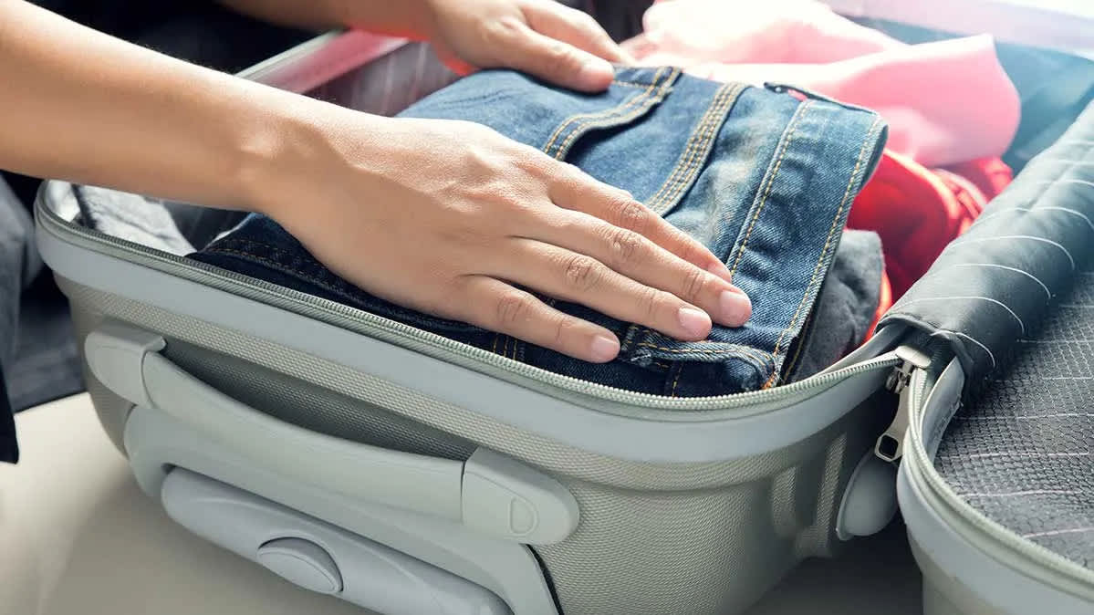 5 Steps to a Perfectly Packed Suitcase