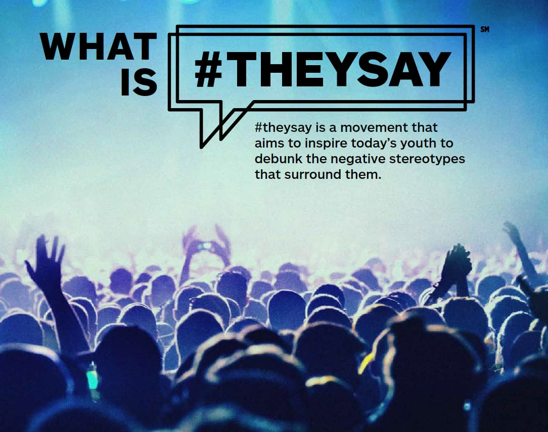 #theysayproject