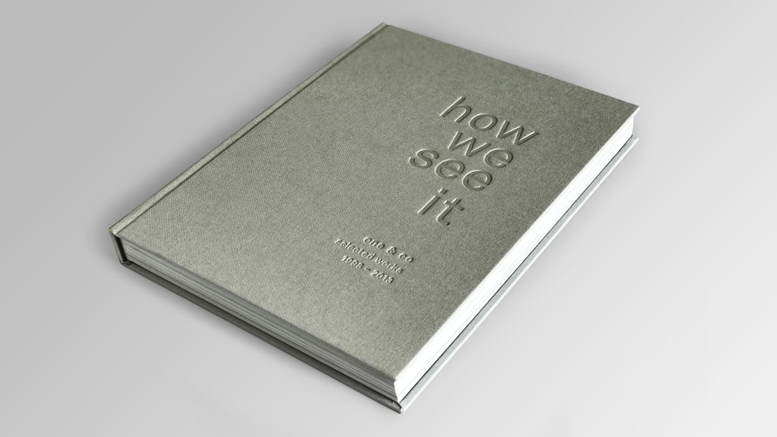 """One & Co Book - """"How We See It"""""""