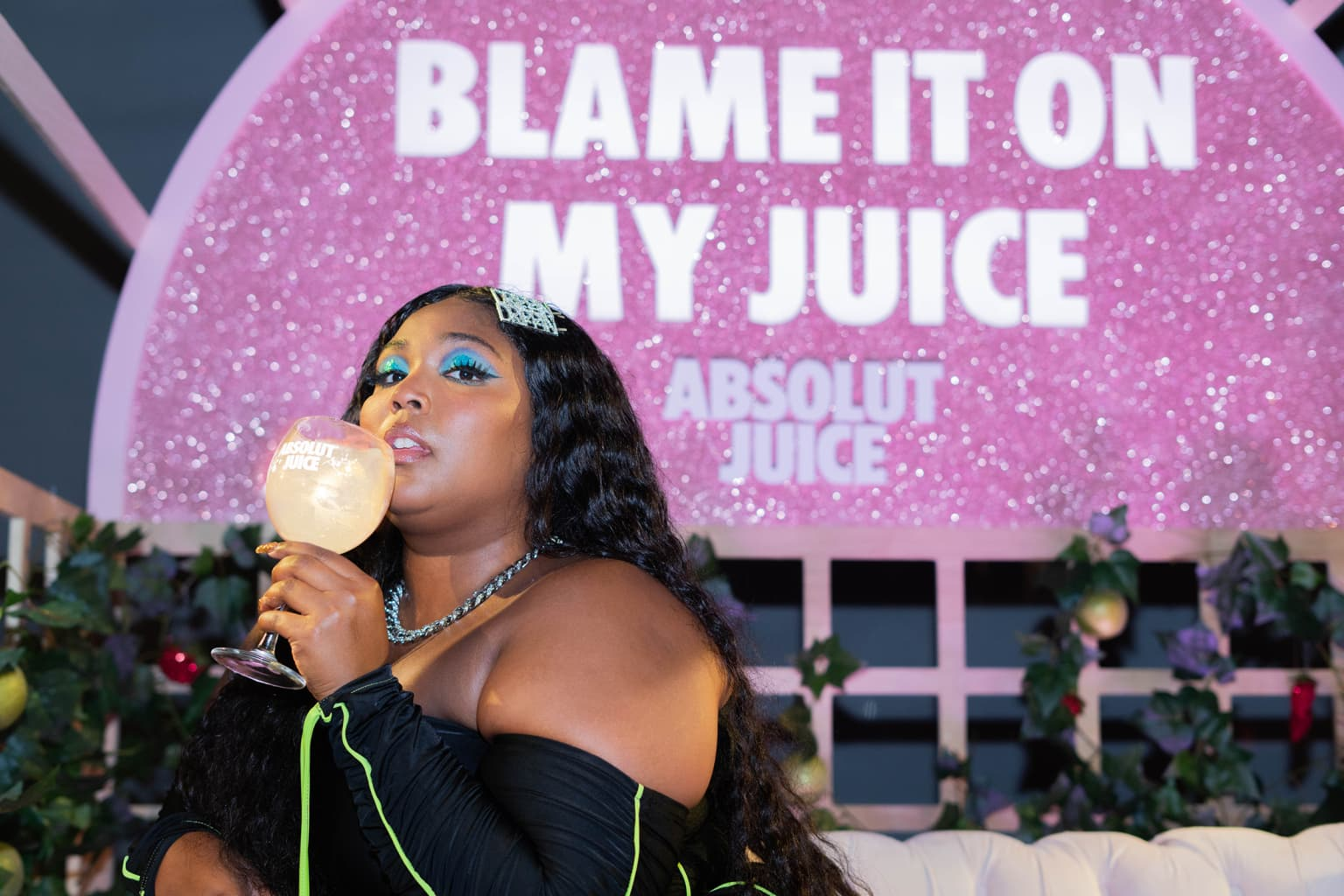 Lizzo After-Party for Absolut Juice