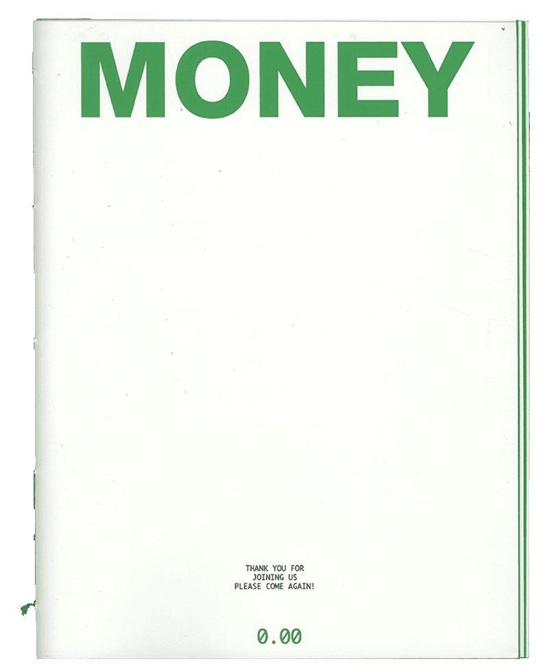 Artist Magazine 'Money'