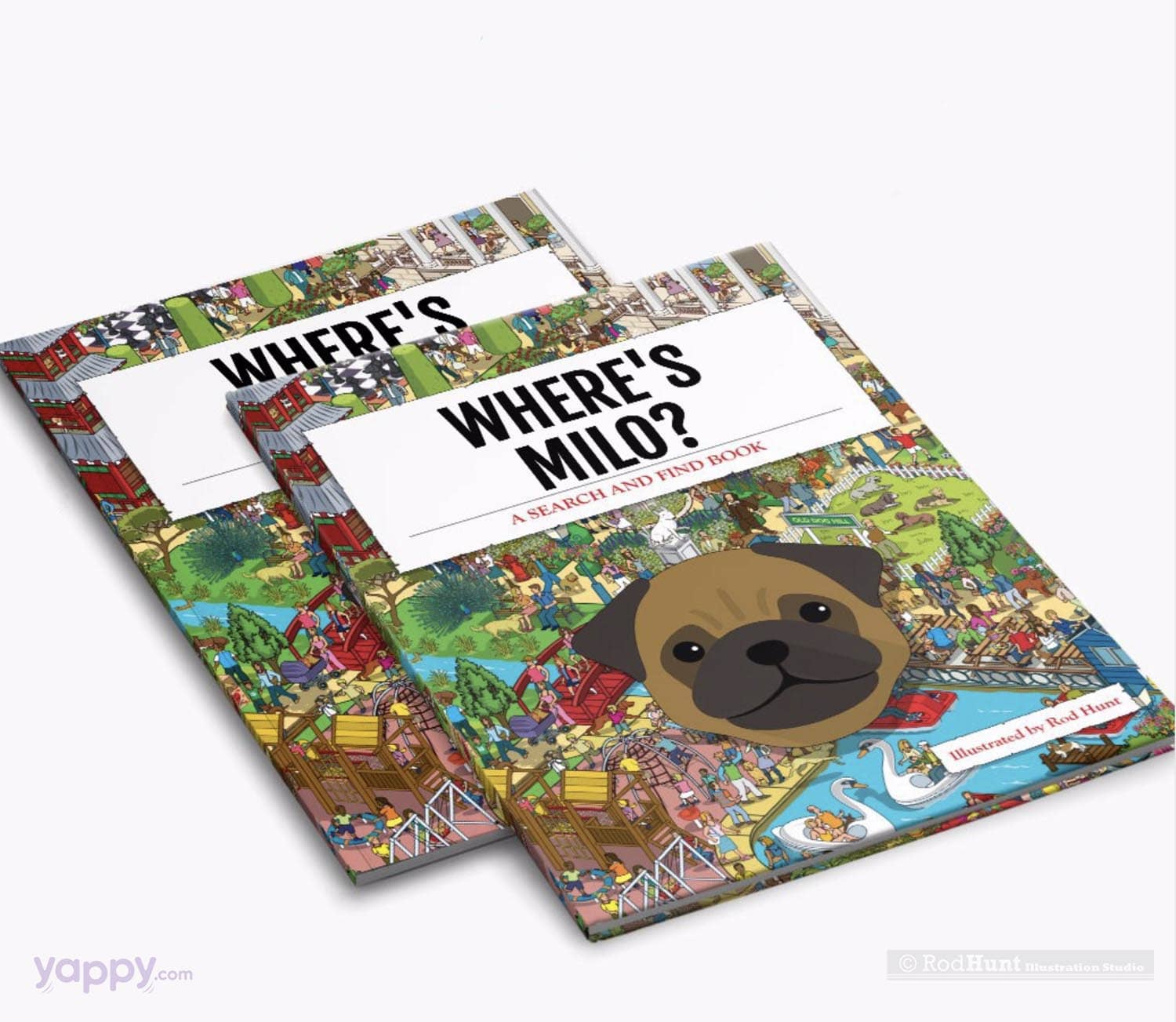 Where's Your Dog? Personalised Search and Find Book