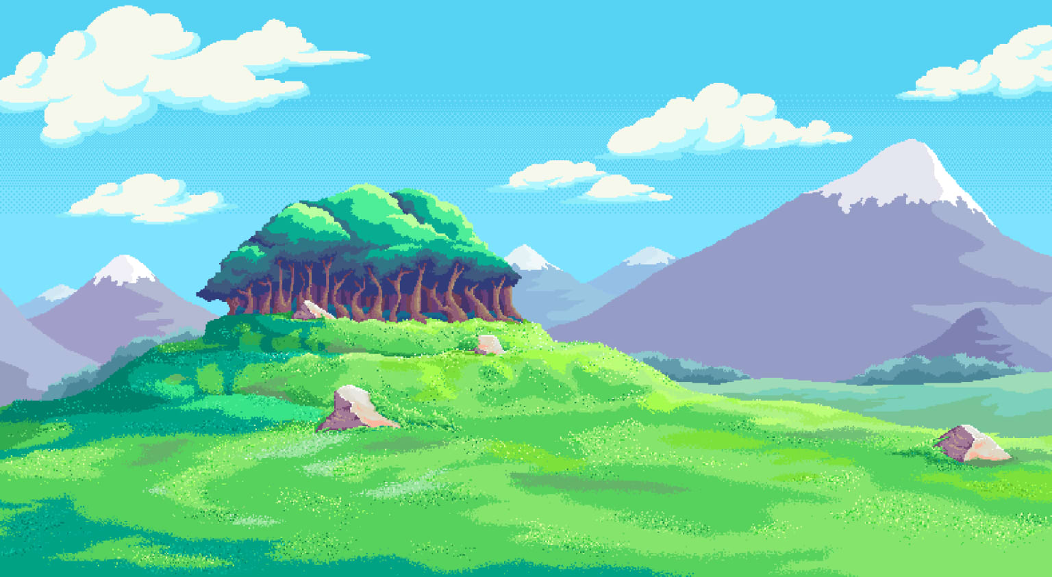 Tutorial>Skip Pixel Background and Assets