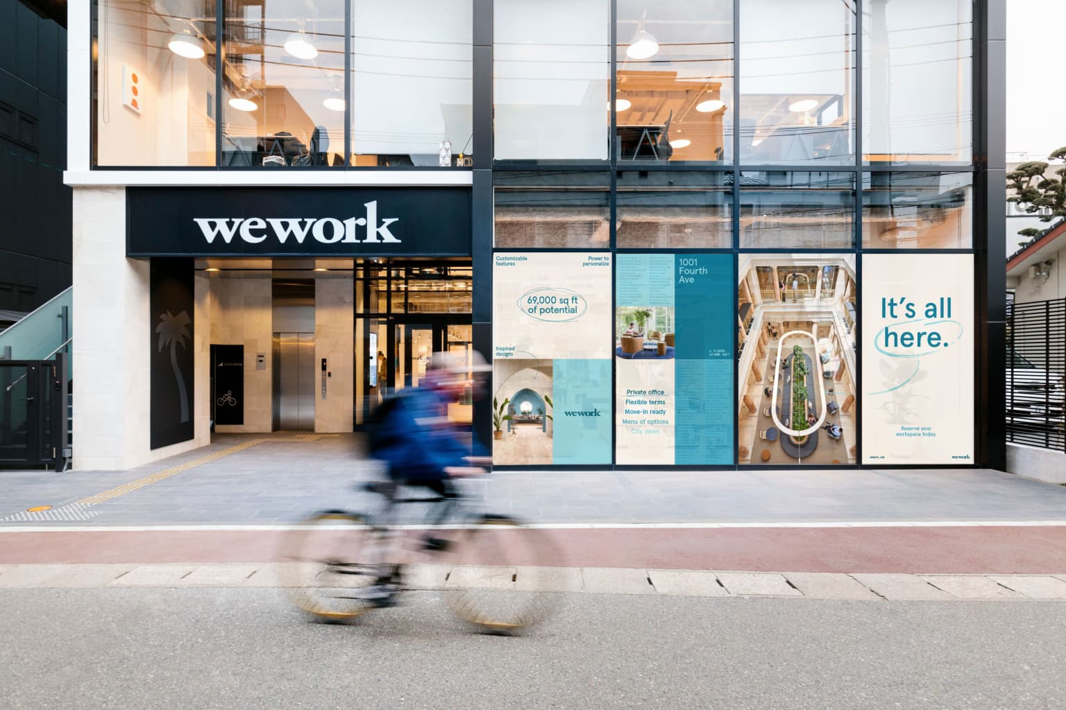 It's All Here Campaign—WeWork