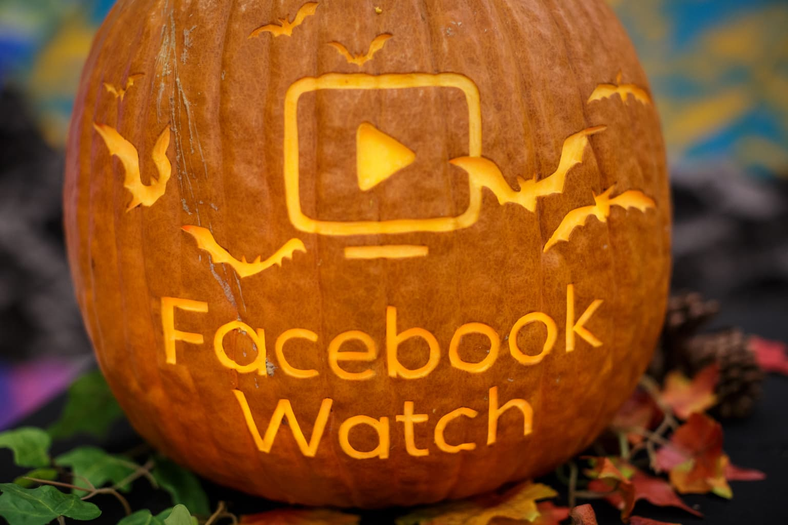 Facebook Watch In-Stream Reserve Halloween Event