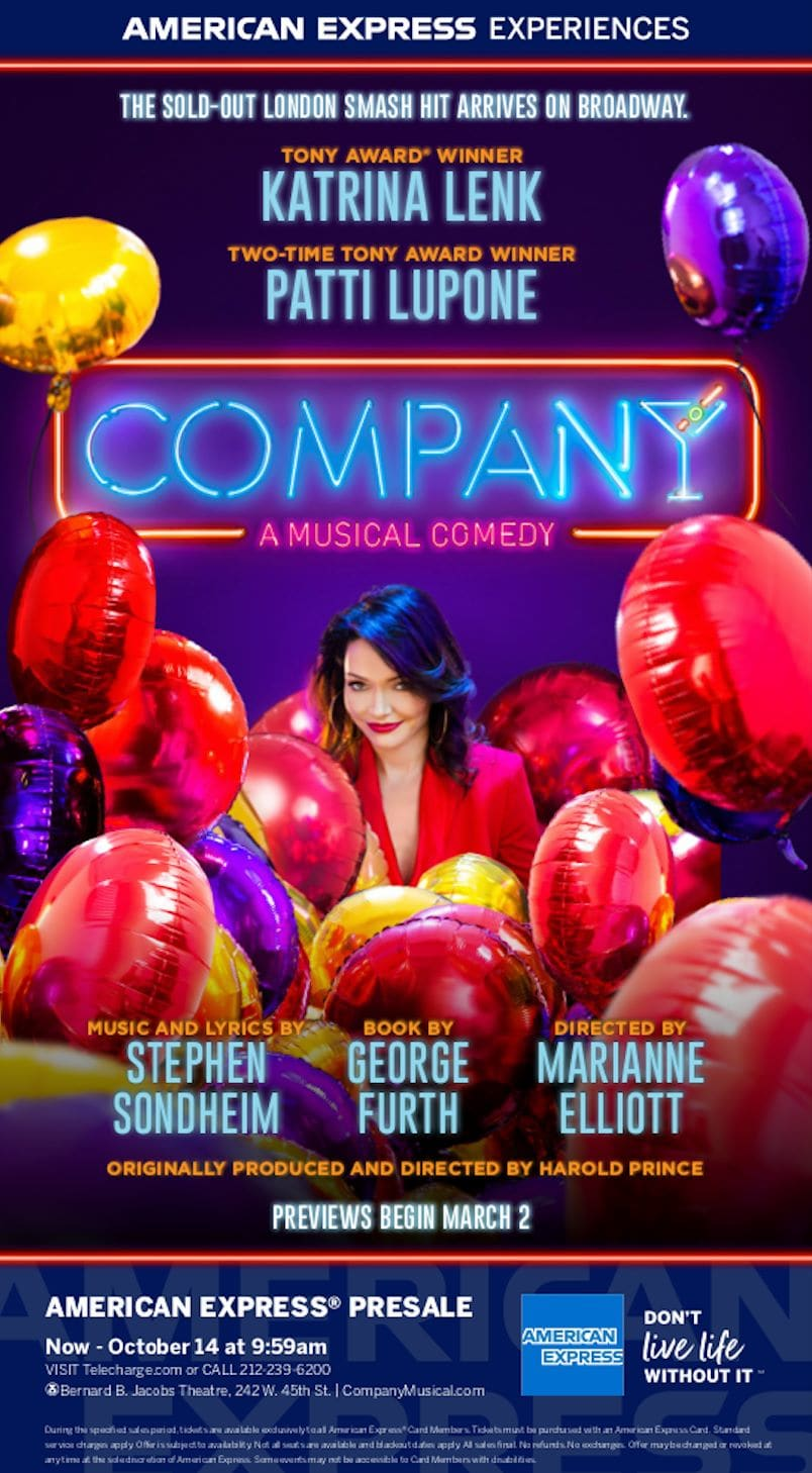 Company the Broadway Musical