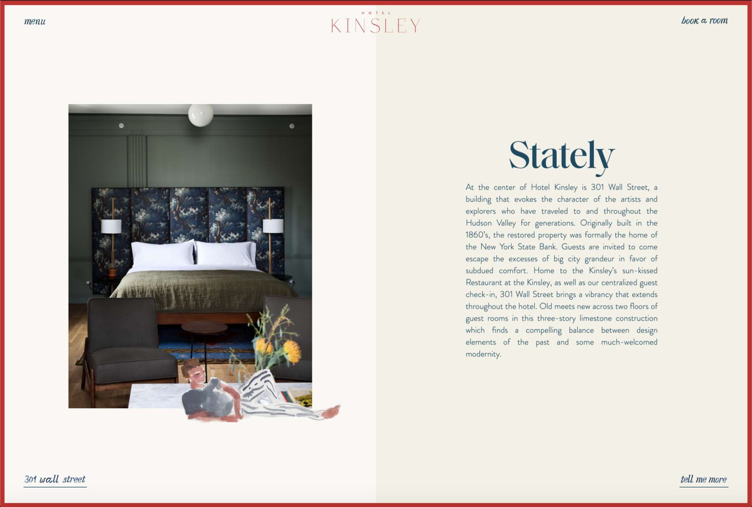 Copy for the Kinsley Hotel Website