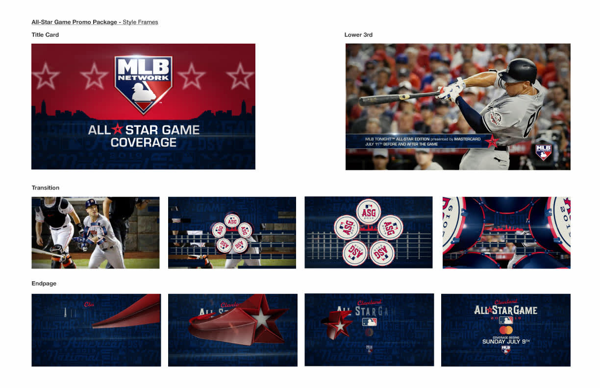 2019 All Star Game Promo Package