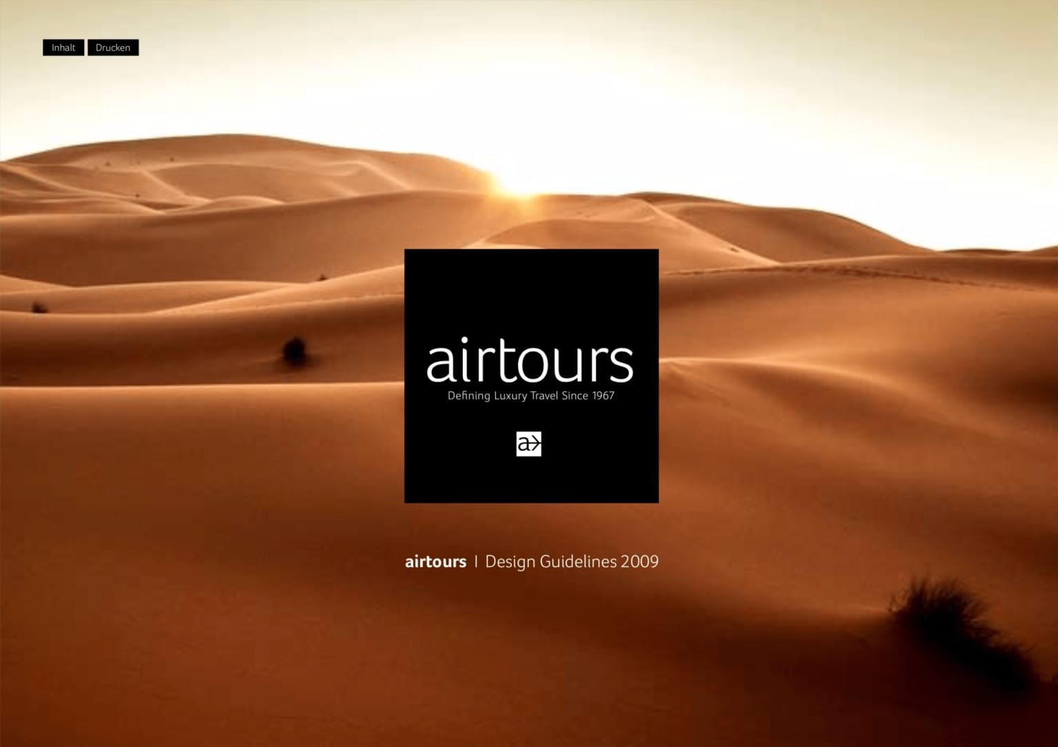 airtours Luxury Travel Brand Relaunch