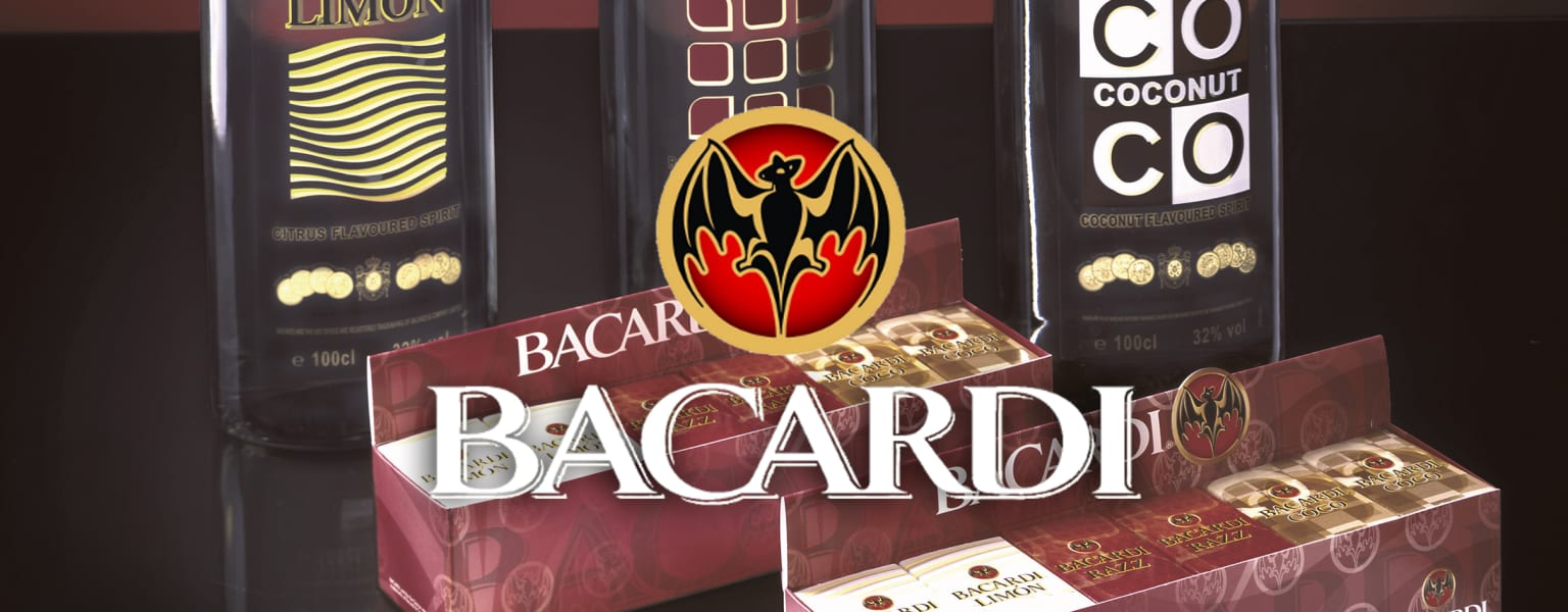 Bacardi in-house designs