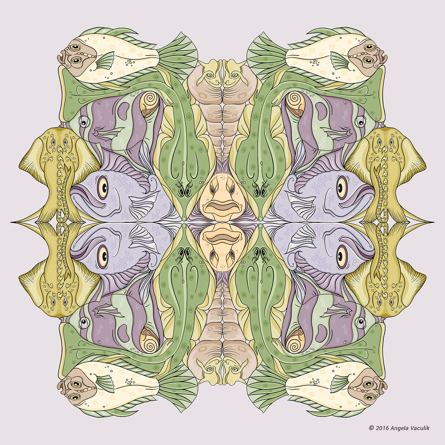 Water Creatures - Patterns