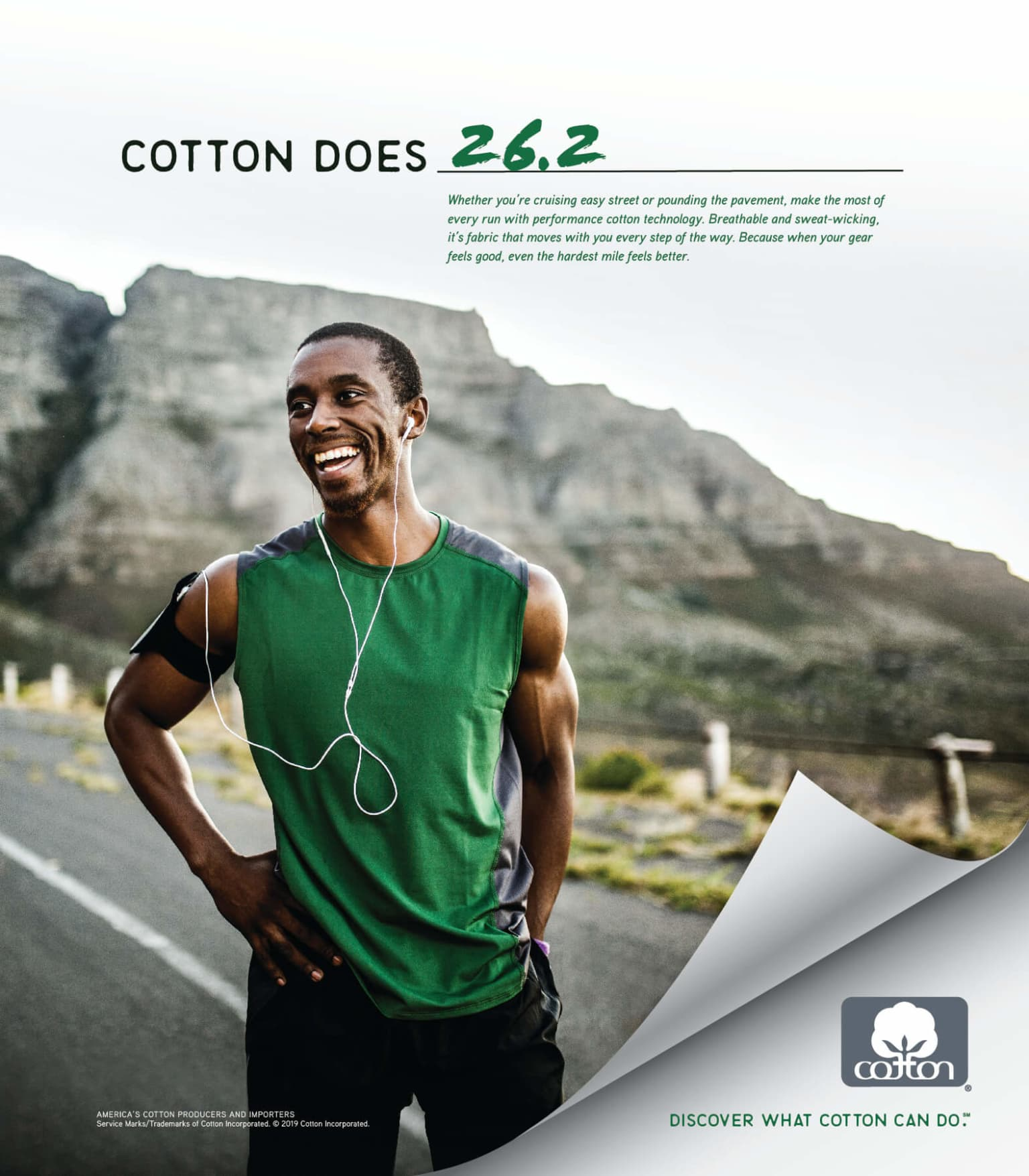 Cotton Incorporated: Cotton Does campaign