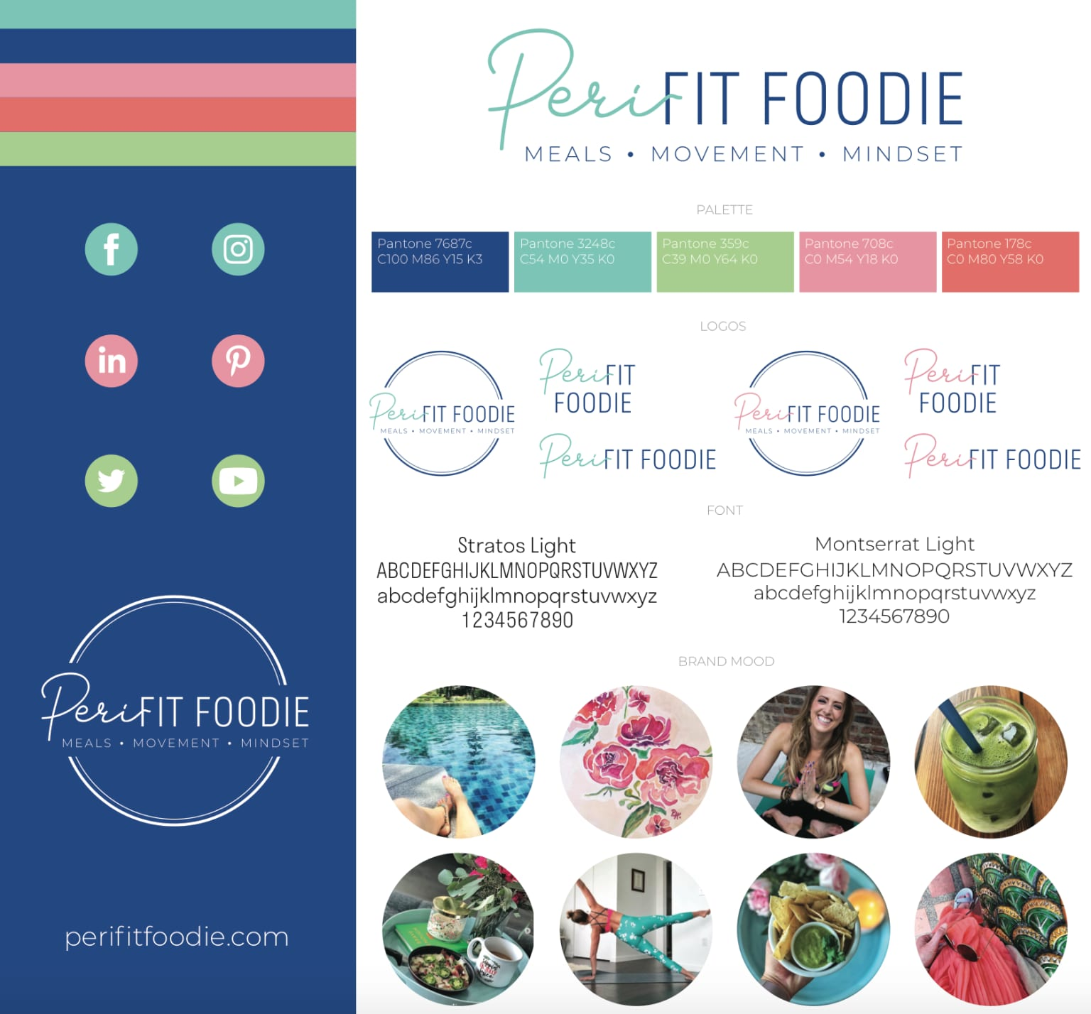 Peri Fit Foodie Branding Sheet