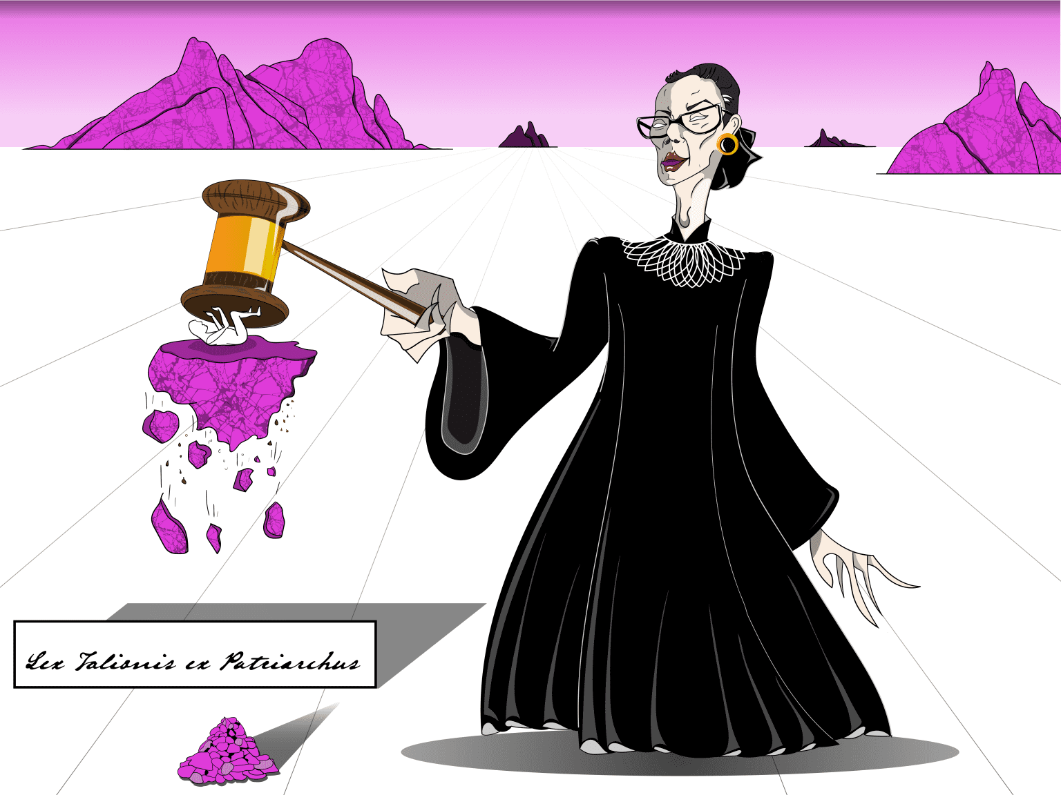 Ruth Bader Ginsburg Portrait for Planned Parenthood