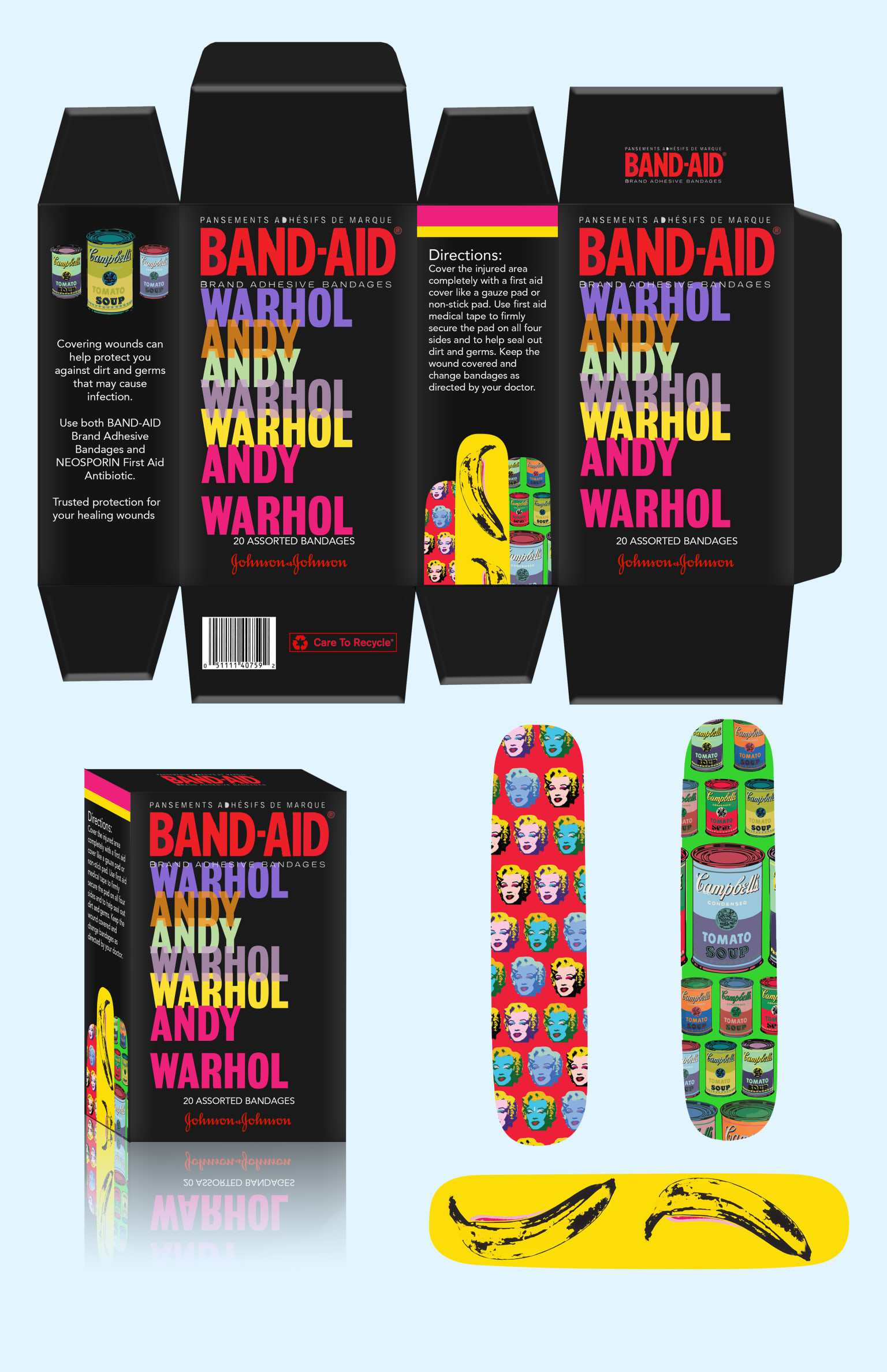 Band Aid Packaging