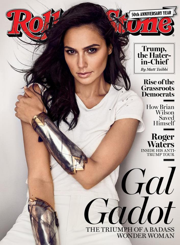 Rolling Stone Cover with Gal Gadot