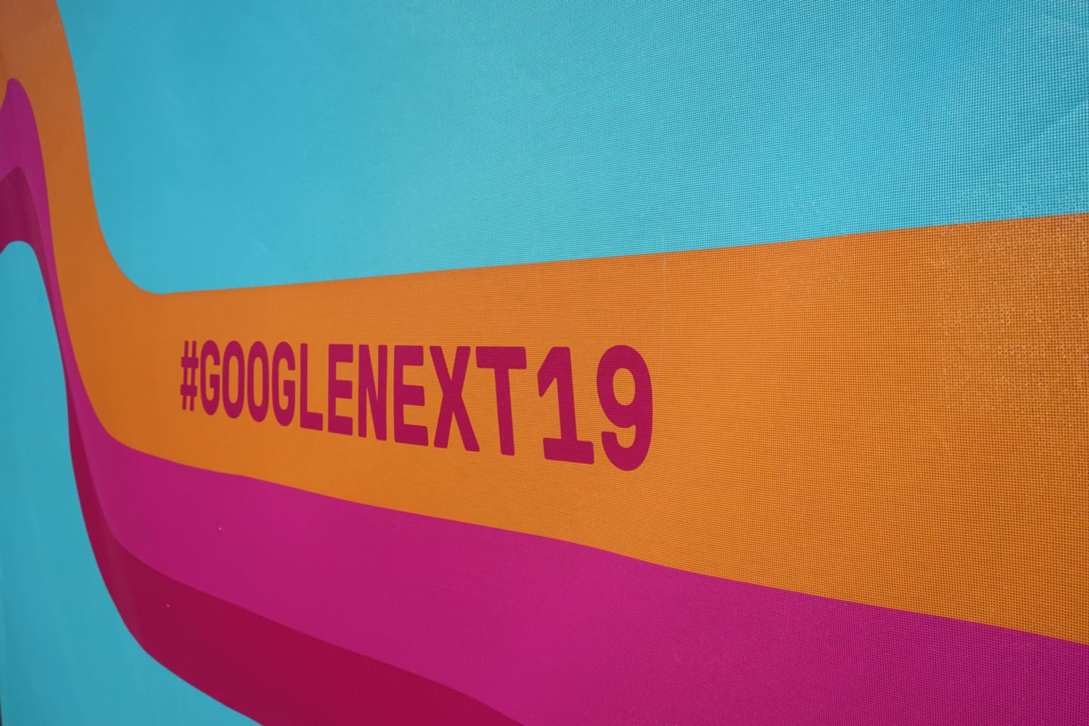 GoogleNXT 2019 After Party Event Branding and Graphics