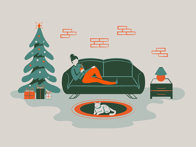 How To Spend Christmas Alone for BuzzFeed