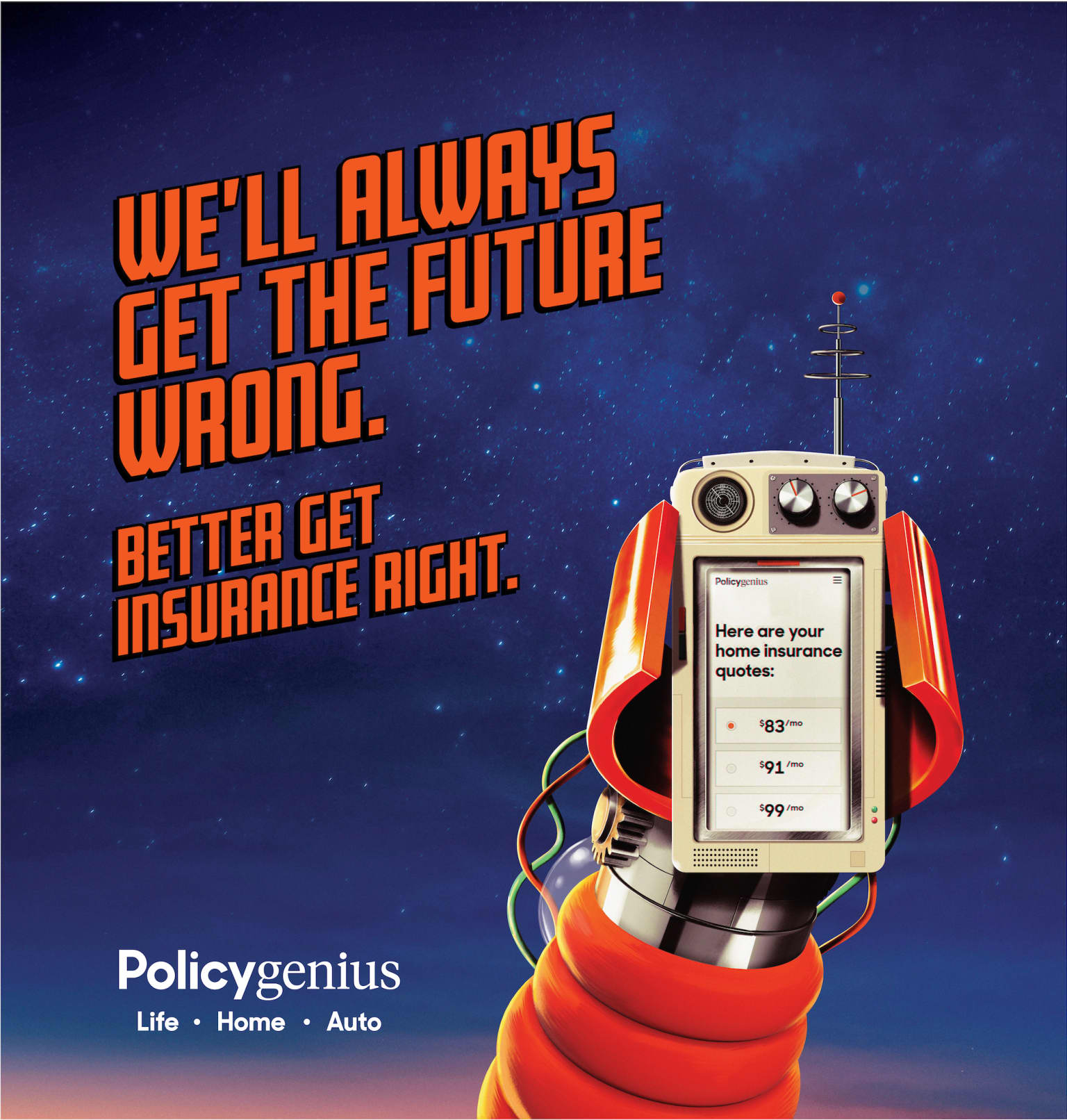 Policygenius: We'll always get the future wrong