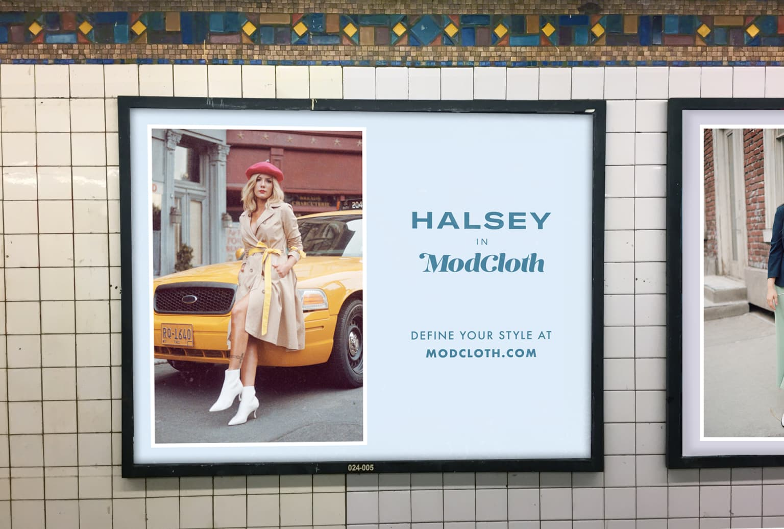 Modcloth- NYC Subway Campaign