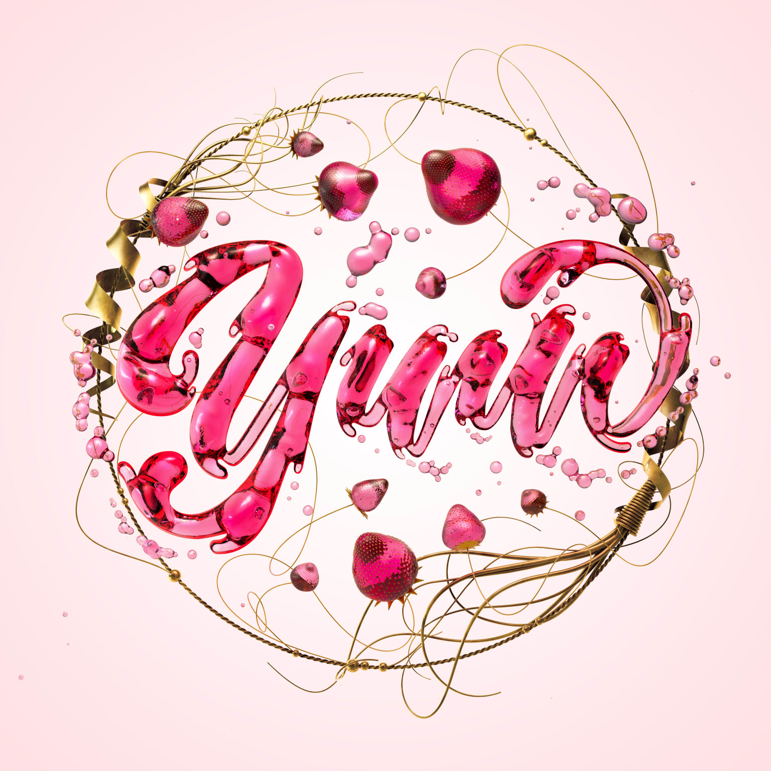 Jelly Lettering study