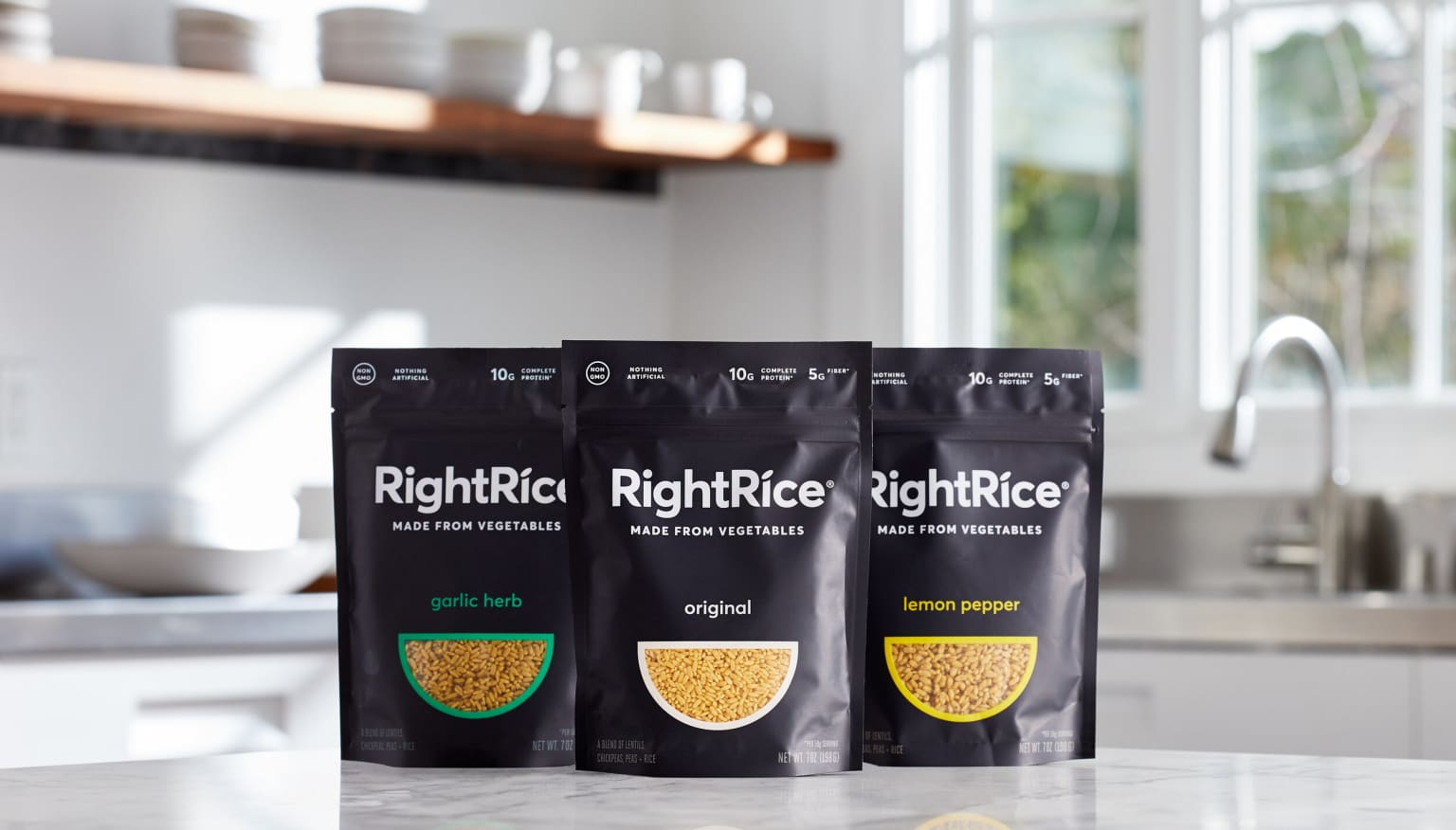 Building the brand for a new type of rice