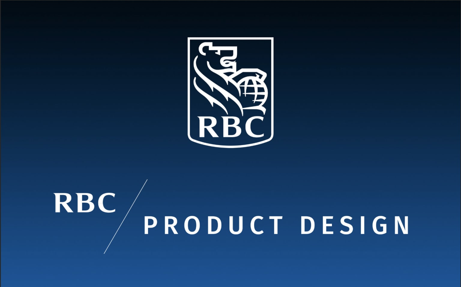 RBC Product Design | Business Banking