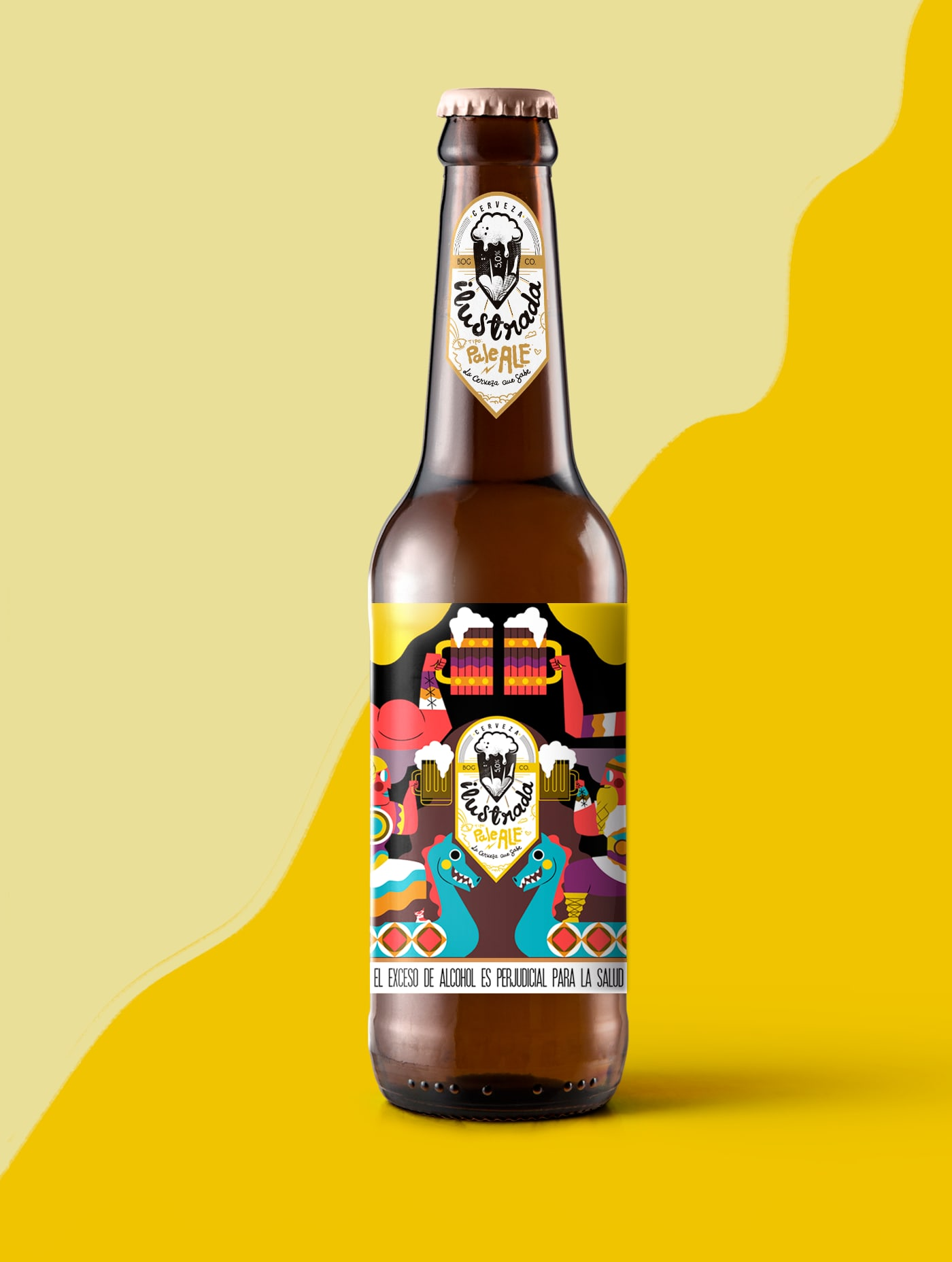 ILUSTRADA BEER - Label Design
